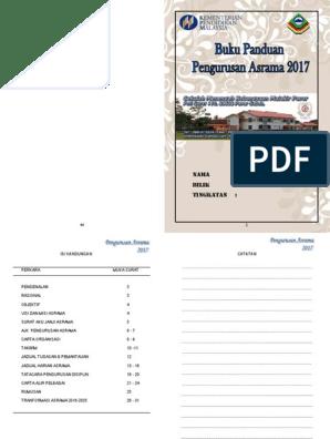 Manual Pengurusan Asrama Pages 1 50 Text Version Anyflip