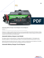 Automatic Battery Charger Circuit Diagram | Circuit Diagramz