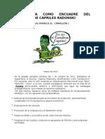 La Estafa Como Encuadre Del Discurso de Capriles Radonski
