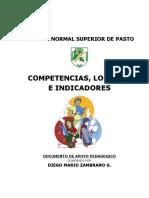 Competencias, Logros e Indicadores - Taxonomia 2015dz