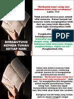 BERGANTUNG KEPADA TUHAN SETIAP HARI.pptx