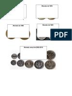 Billetes y Monedas de 1925 Guatemala