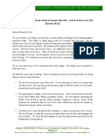 Cbcp Pastoral Statement Ejk English