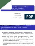 Dynamic Macro HistoryversusExpectations Summer2016 1