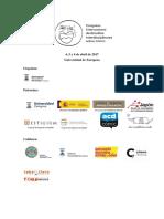 Programa Provisional Congreso Cómic Zaragoza (abril 2017)