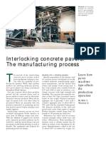 The Concrete Producer Article PDF- Interlocking Concrete Pavers- The Manufacturing Process