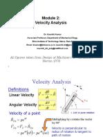 Module 2 Velocity