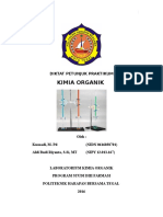 Modul Praktikum Kimia Organik (KUSNADI)