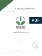 Instructivo de Difusión y Publicaciones FIA 2015
