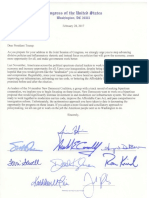 New Dem Letter to Trump