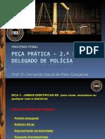 DISSERTATIVA - Pecas Particas - Delegado de Policia11042014