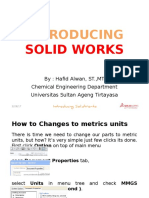 Introducing Solid Works