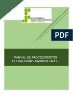 Manual de Procedimentos Operacionais