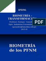 2015 IPDM 03 04 Biometría Transformación
