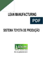 Lean manufacturing Senai