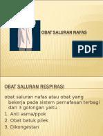 9. Obat Saluran Pernafasan