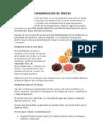 Deshidratación de Frutas 2