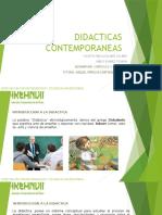 DIDACTICAS CONTEMPORANEAS
