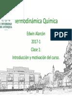 Termoquimica 20171 Clase 1-Modificada Posteriormente