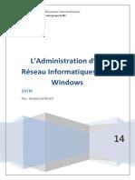 L'Administration d'Un Réseau Informatique Sous Windows