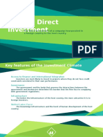 Foreign Direct Development and Privatization Report