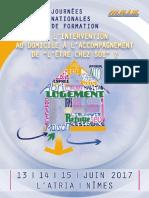 Programme des JNF 2017 (MAIS)