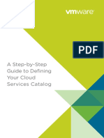 A Step by Step Guide to Defining Your Cloud Services Catalog