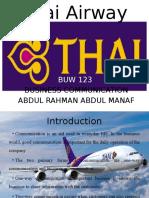 Thai Airways Presentation