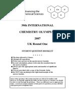 Olympiad 2007 R1 Questions