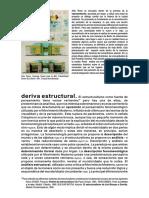 La Deriva Estructural
