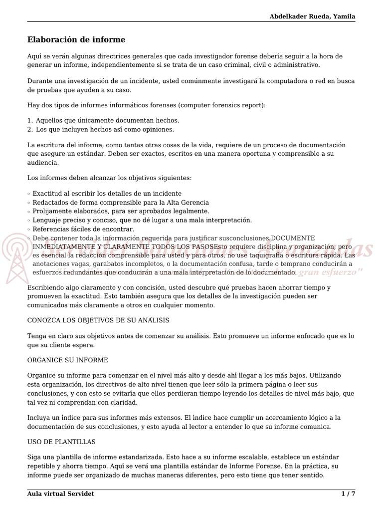 Modulo 7 Informes