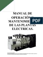 Manual Mtto Plantas de Emergencia