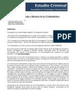 Introduccion e Historia de La Criminalistica(1)