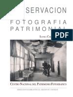 Conservacion de fotografia patrimonial