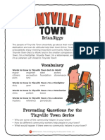 Tinyville Town Teacher's Guide