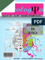 Revista Psicologia Codigo de Etica y Vicios