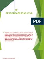 Poliza de Responsabilidad Civil