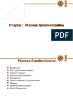 OS Process Synchronization