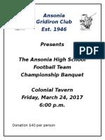 Ansonia Gridiron Club