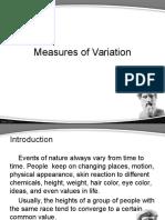 21-9 Measures of Variation