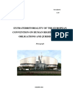 Extraterritoriality of the European Convention on Human Rights Positive Obligations and Jurisdiction