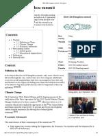 2016 G20 Hangzhou Summit - Wikipedia