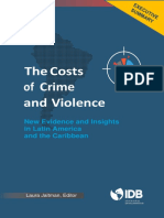 The Costs of Crime and Violence New Evidence and Insights in Latin America and the Caribbean - Executive Summary