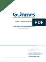 G.james Installation Instructions