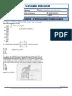POTENCIAÇÃO E RADICIAÇÃO.doc