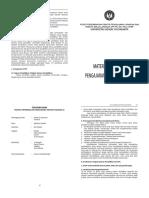 Buku Pembekalan Pengajaran Mikro-PPL I Kateren 1 2014