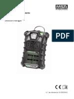 ALTAIR 4X Operating Manual - ES.pdf