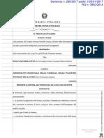 2017 26 Gennaio Tribunale Palermo Sezione Lavoro Sentenza 296 2017 Tenuto Conto Parziale Soccombenza Amministrazione Dovrà Rimborsare a Ricorrente Solo Metà Spese Di Lite Come Liquidate in Dispositivo