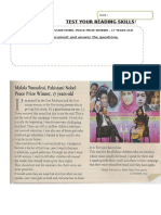 TEST YOUR READING SKILLS MALALA'S SPEECH .doc