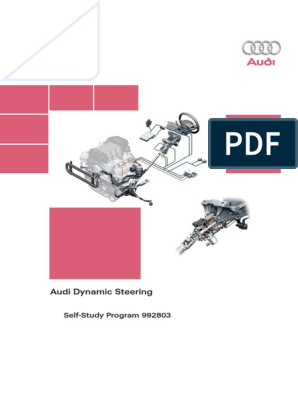 Audi Dynamic Steering pdf   Steering   Gear